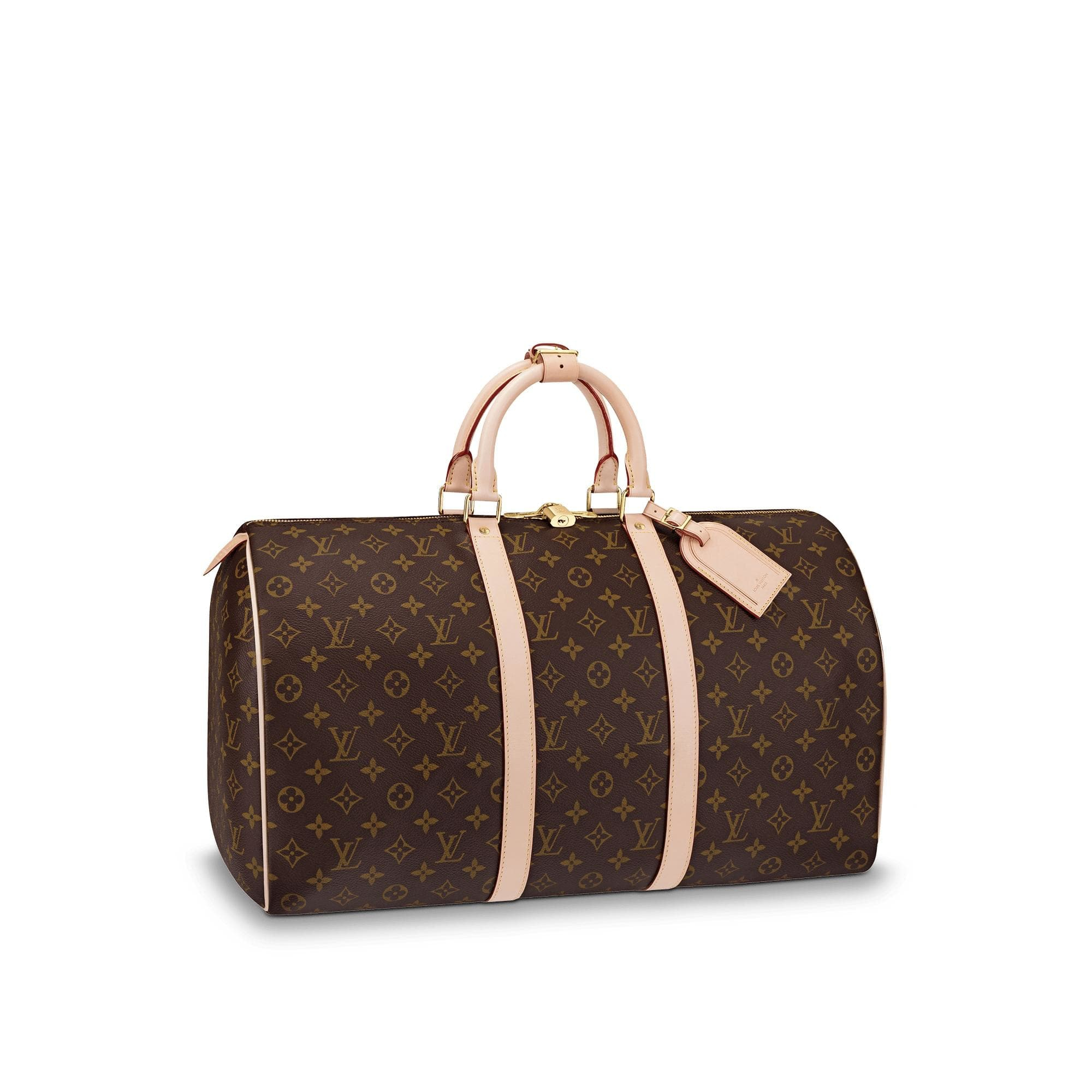 Louis Vuitton Keepall Monogram With Accessories 50 Brown