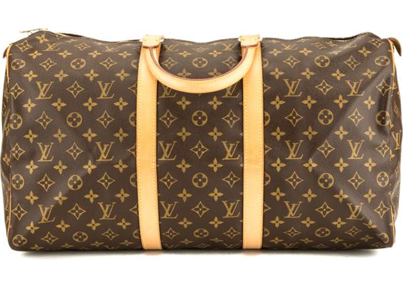 76dffa56883 Louis Vuitton Keepall Monogram (Without Accessories) 50 Brown