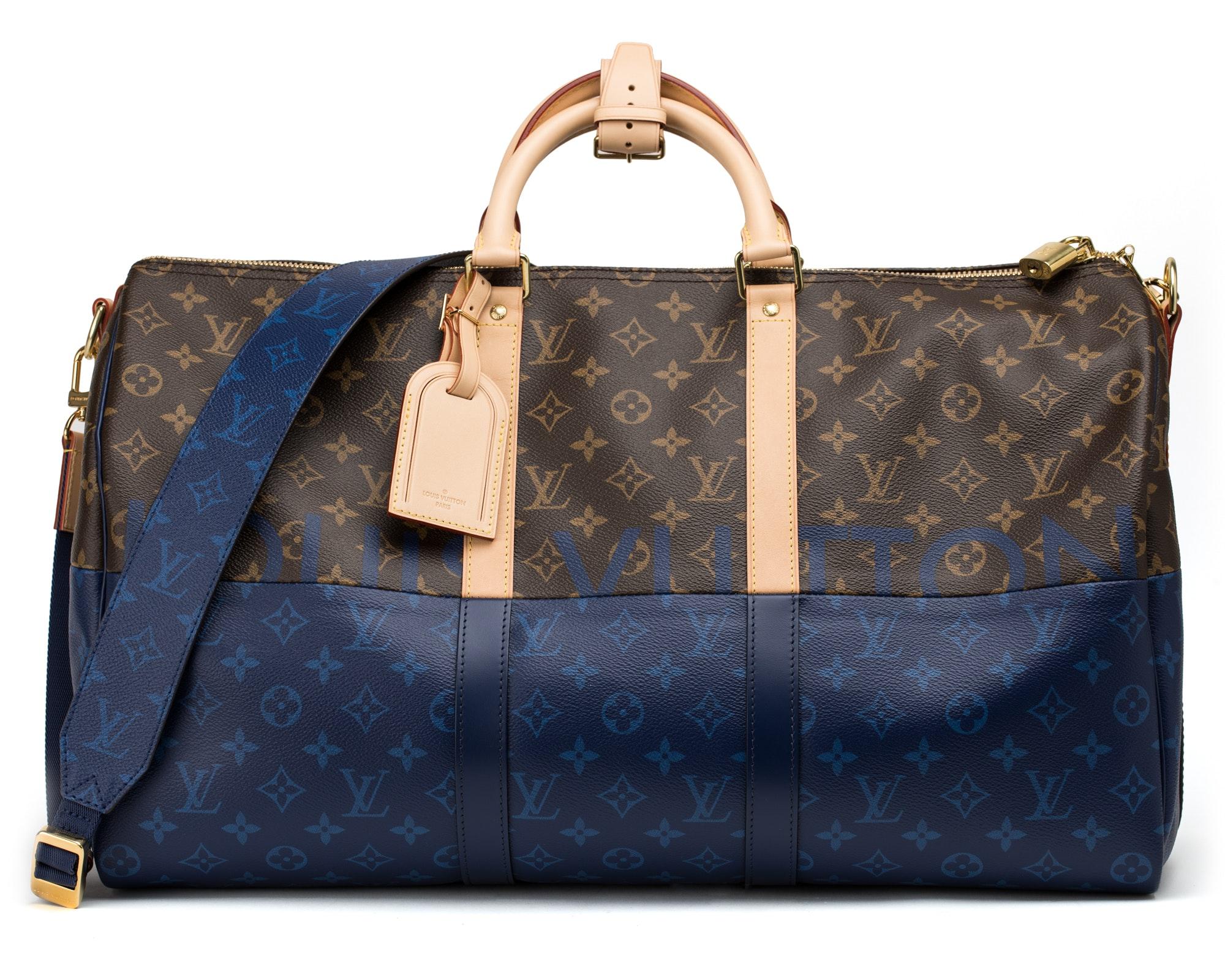 Louis Vuitton Bandouliere Outdoor Split Monogram 50 Brown/Pacific Blue