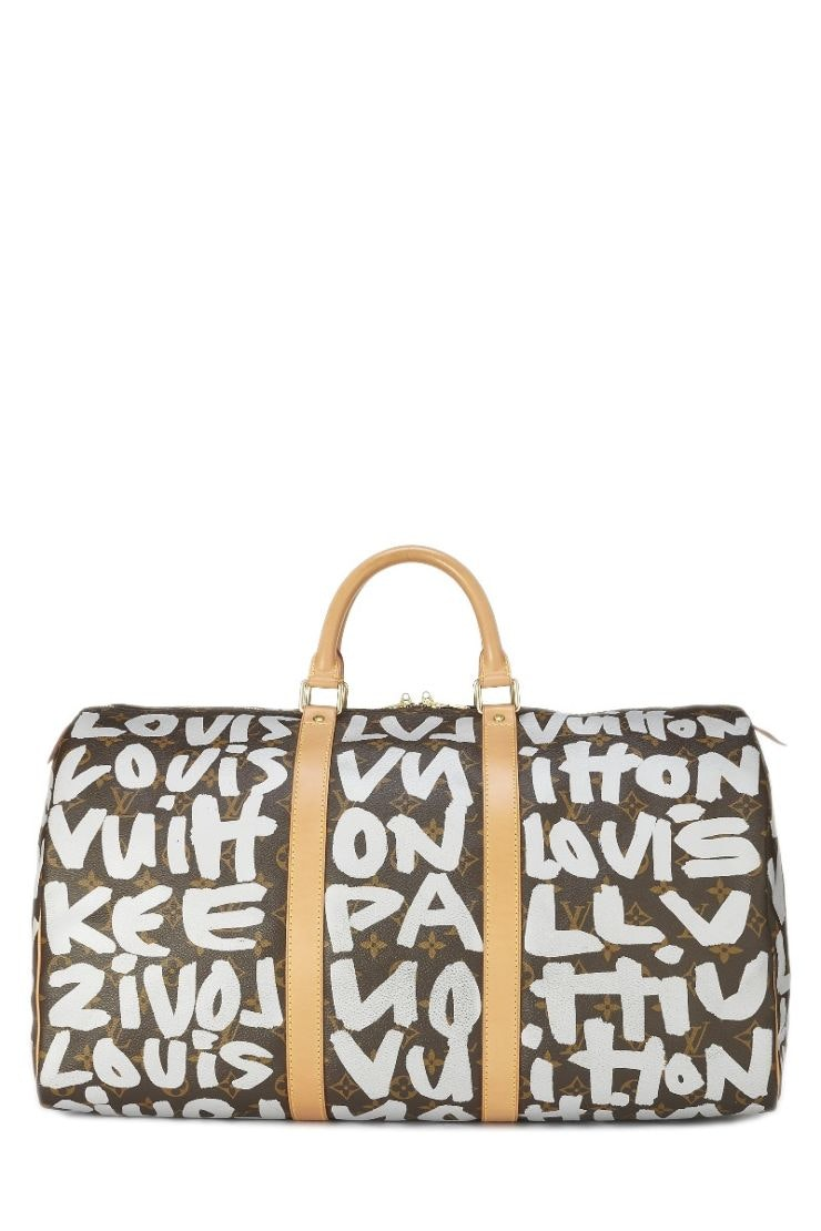 Louis Vuitton Keepall Stephen Sprouse Monogram Graffiti 50 Brown/White
