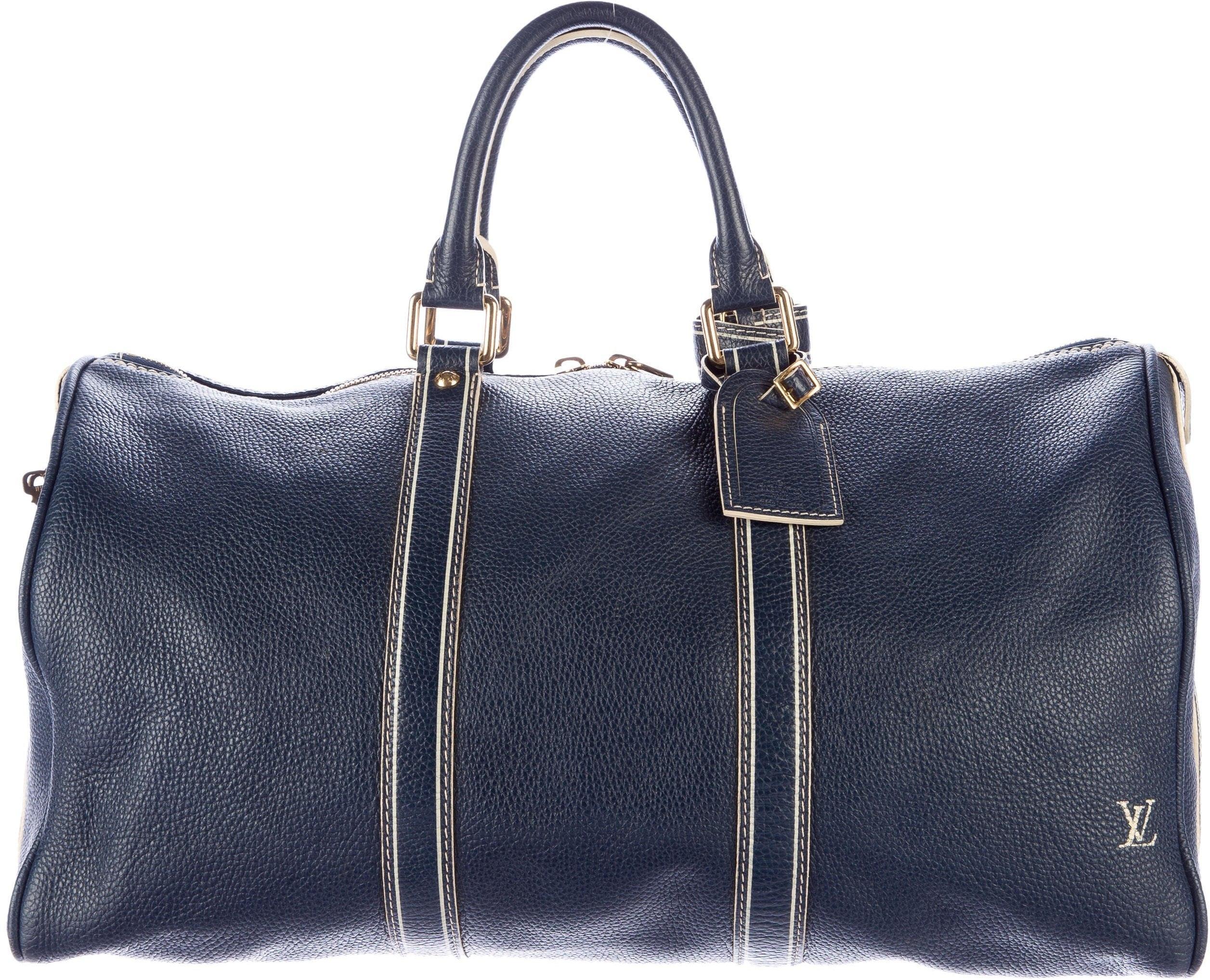 Louis Vuitton Keepall Tobago 50 Blue