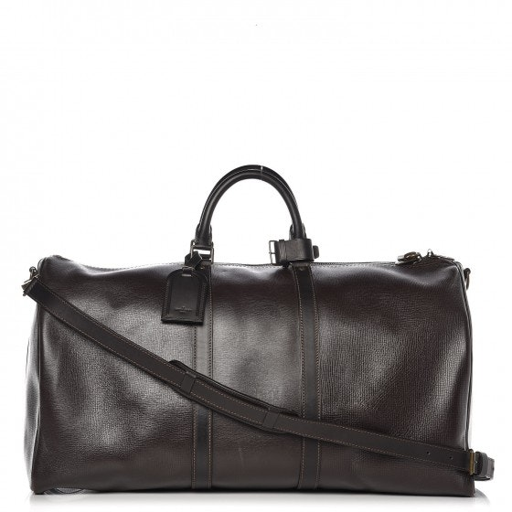 Louis Vuitton Keepall With Accessories 55 Coffee