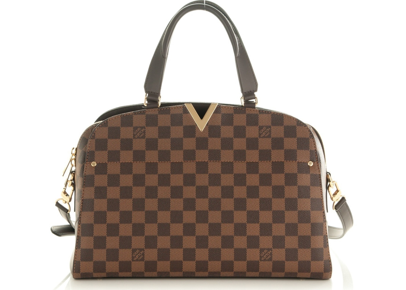 c1565e09255e Louis Vuitton Kensington Bowling Bag Damier Ebene PM Brown. Damier Ebene PM  Brown