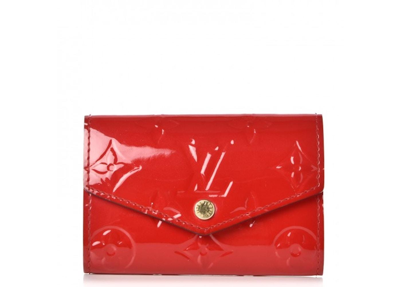 86687b8a0b Louis Vuitton Key Holder Multicles 6 Monogram Vernis Cerise Cherry