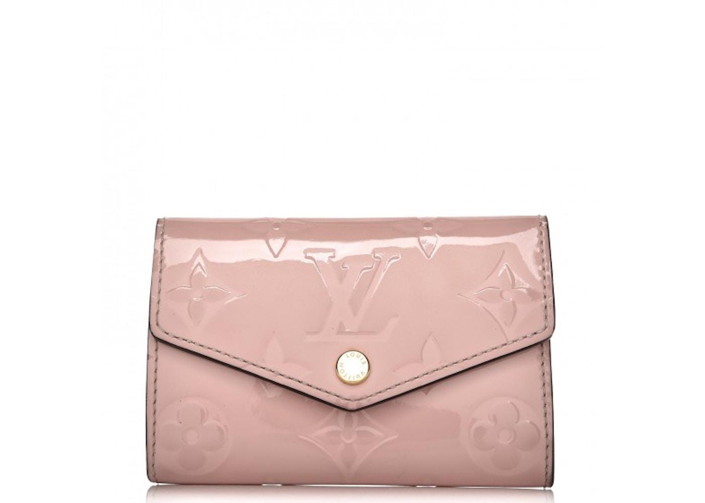 56badecb59 Louis Vuitton Key Holder Multicles 6 Monogram Vernis Rose Ballerine