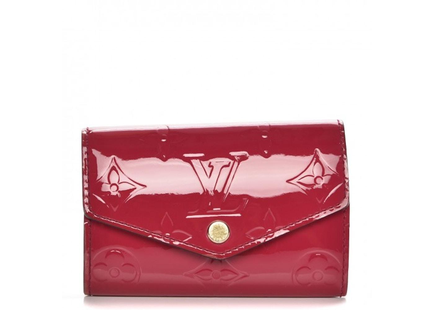 4ee7ec0123 Louis Vuitton Key Holder Multicles 6 Monogram Vernis Rose Indien