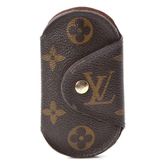Louis Vuitton Key Holder Round Monogram PM Brown