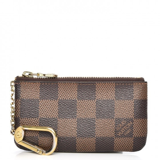 Louis Vuitton Key Pouch Damier Ebene