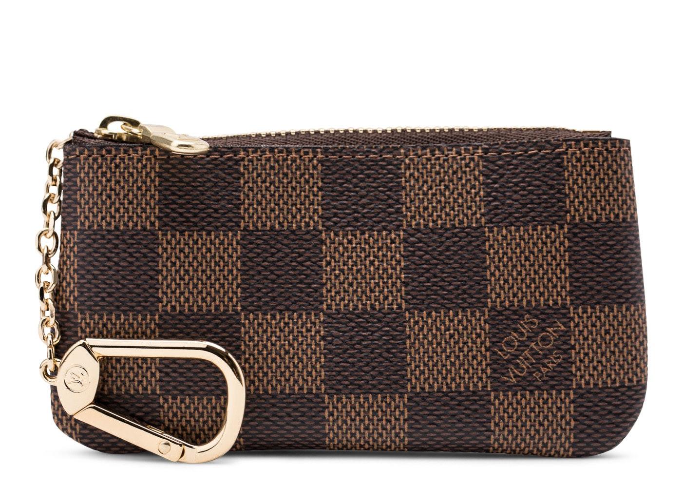 Louis Vuitton Key Pouch Damier Ebene