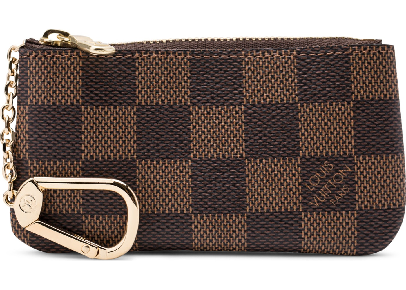 233f3a15ed8 Louis Vuitton Key Pouch Damier Ebene. Damier Ebene