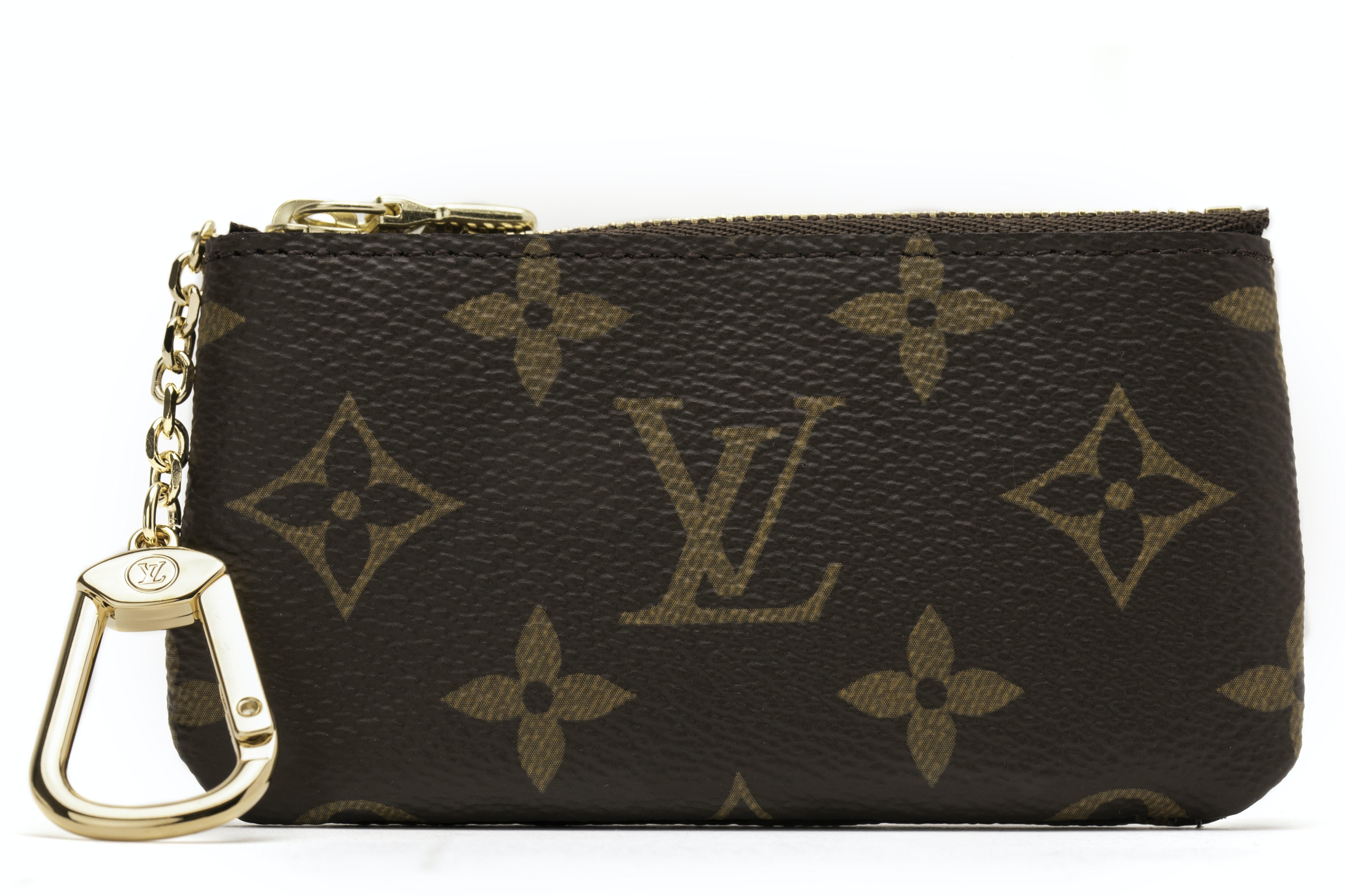 Louis Vuitton Key Pouch Monogram Brown