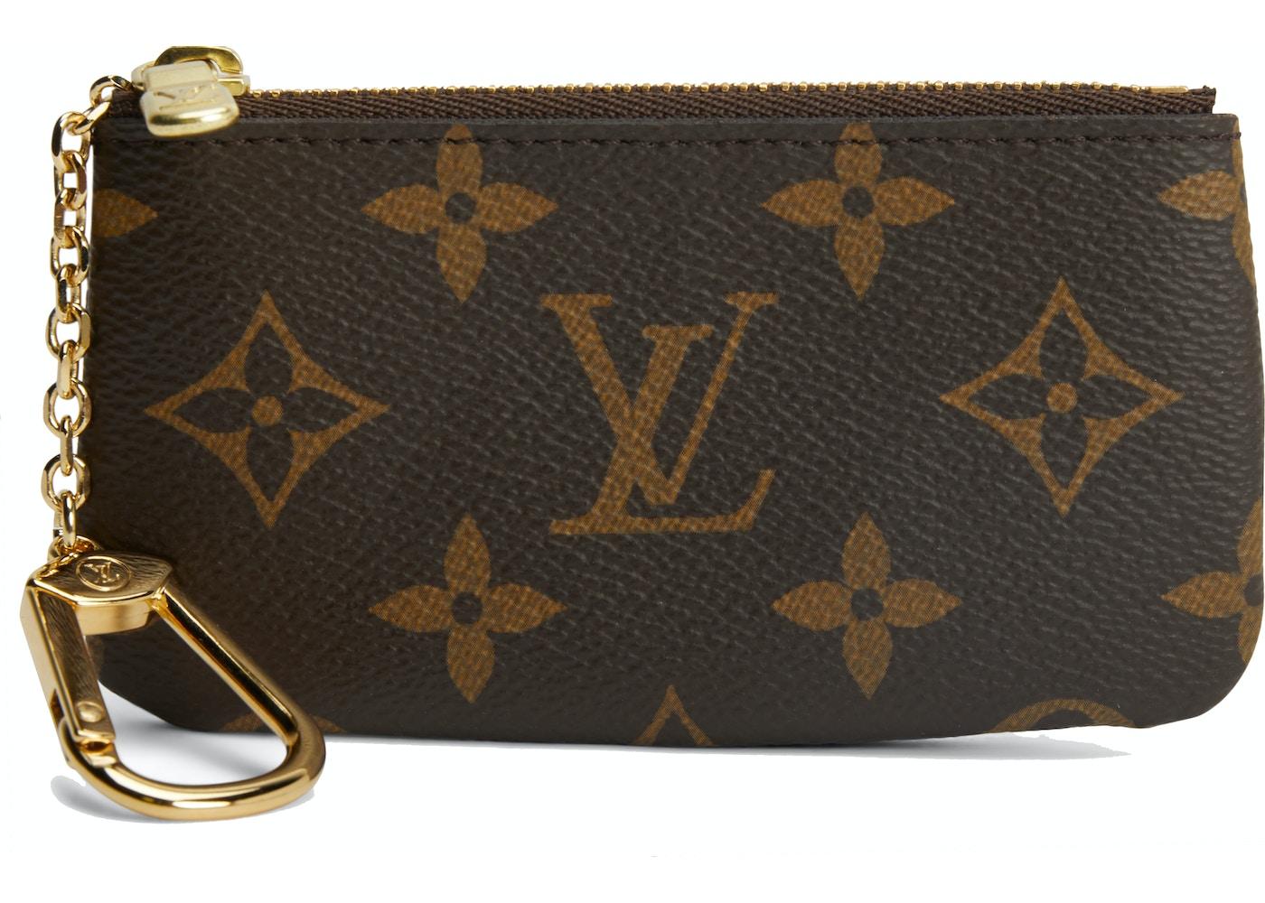 9328ef9305ed Louis Vuitton Key Pouch Monogram Brown. Monogram Brown