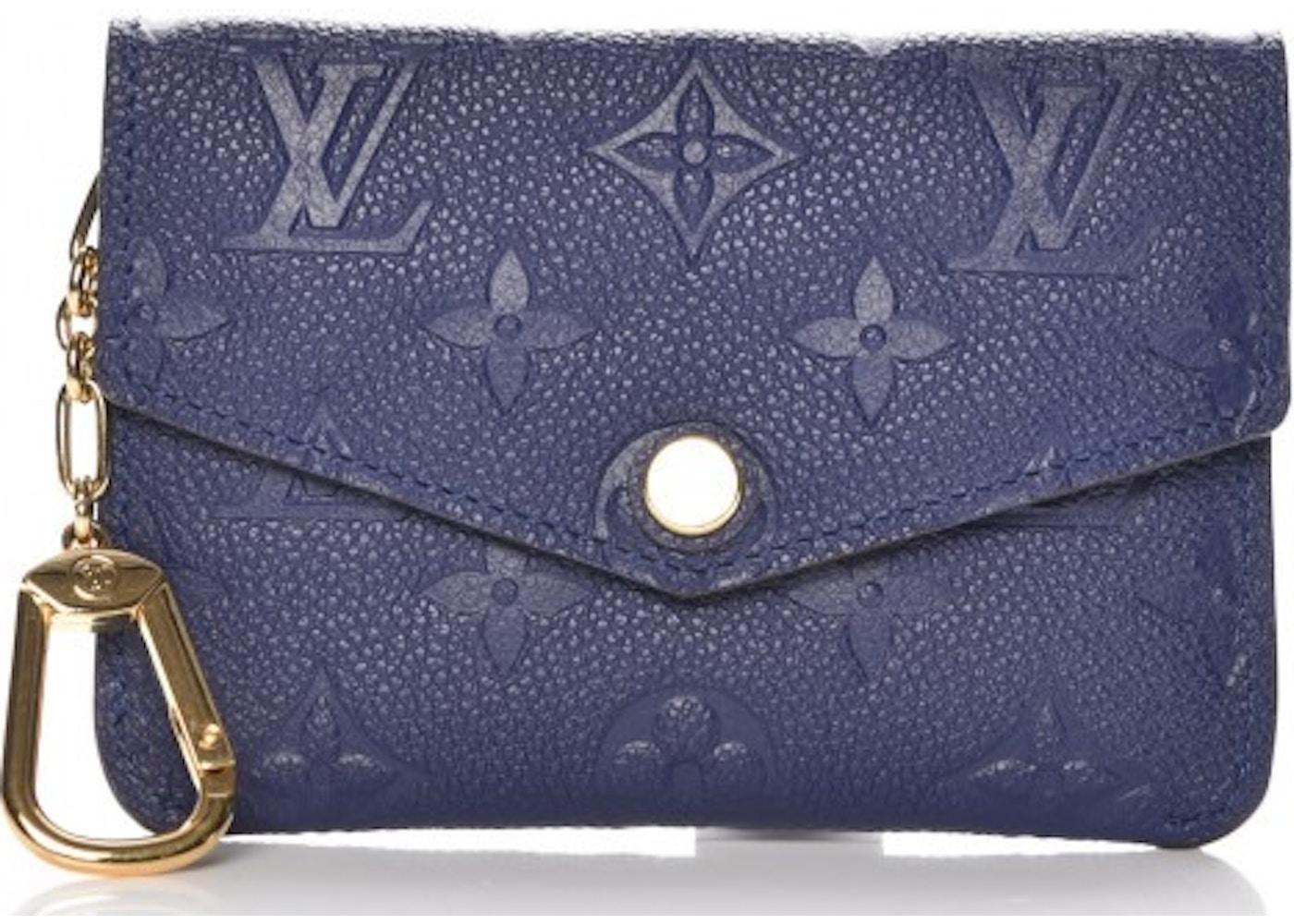 c79199e512d3 Louis Vuitton Key Pouch Monogram Empreinte Iris. Monogram Empreinte Iris