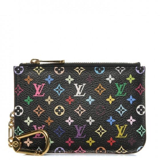 Louis Vuitton Key Pouch Monogram Multicolor