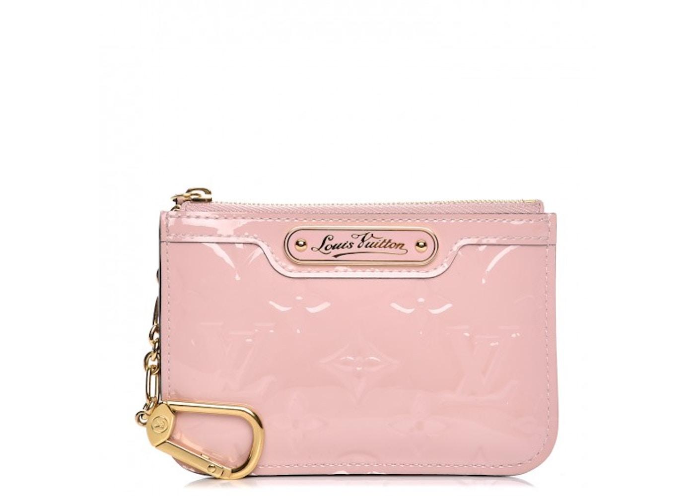 96a2b2797e Louis Vuitton Key Pouch Monogram Vernis Rose Ballerine