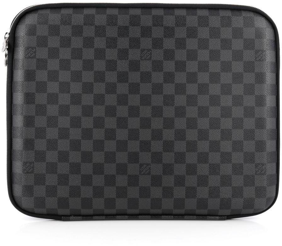 Louis Vuitton Laptop Sleeve Damier Graphite 15 Black