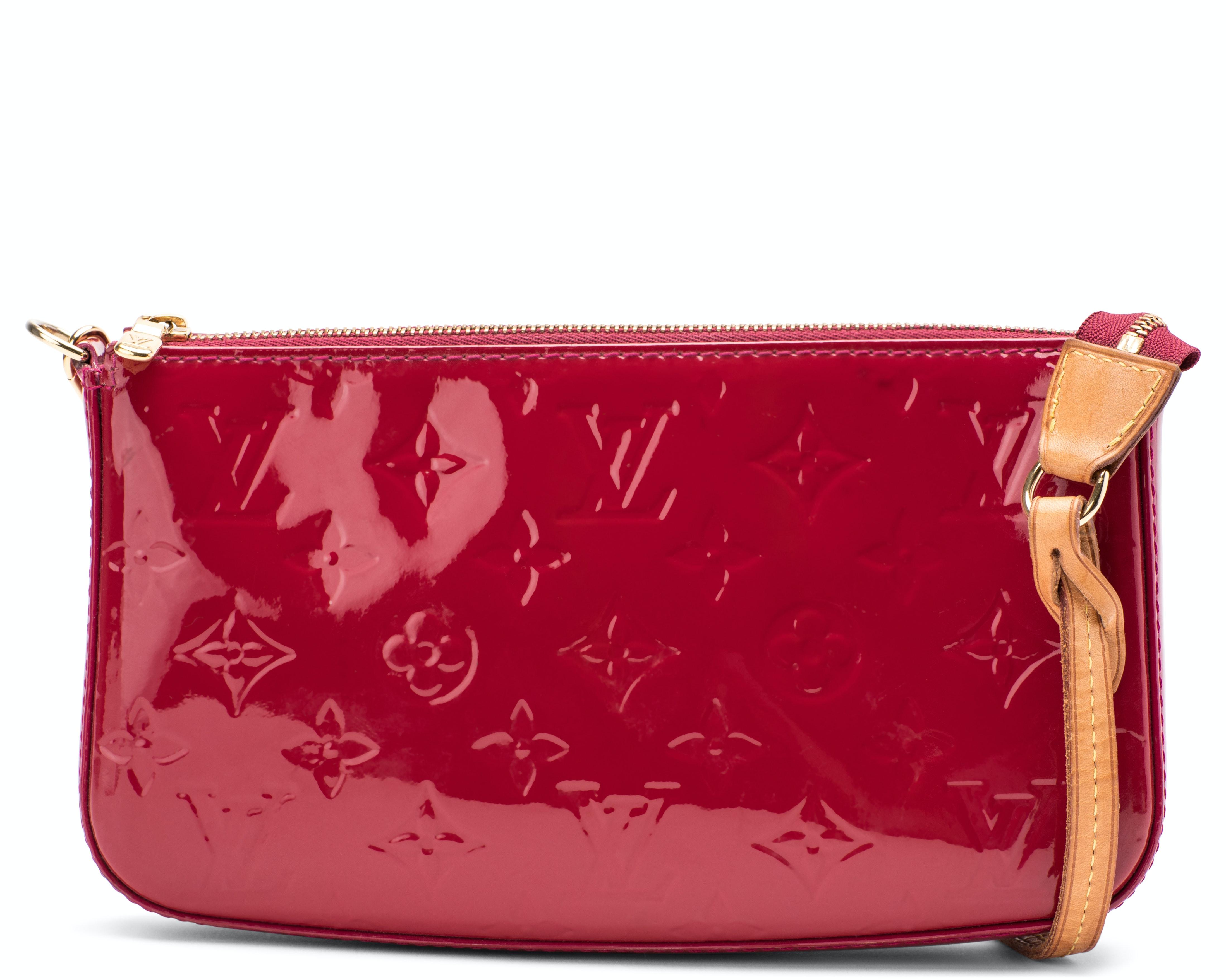 Louis Vuitton Lexington  Pochette Monogram Vernis Red
