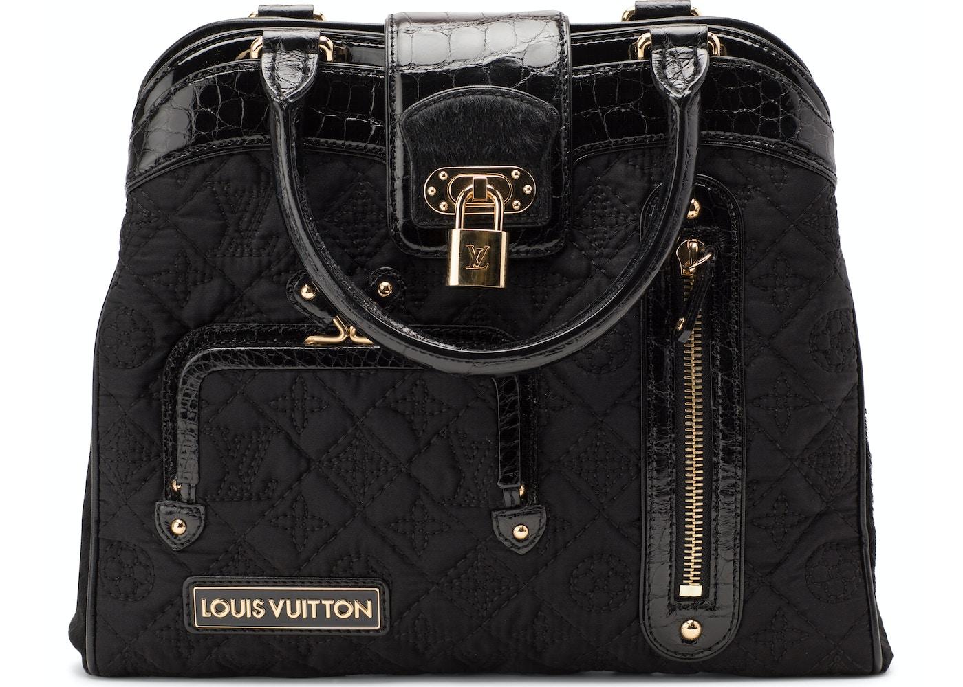 f6f3589e12da Louis Vuitton Linda Monogram Quilted Black. Monogram Quilted Black