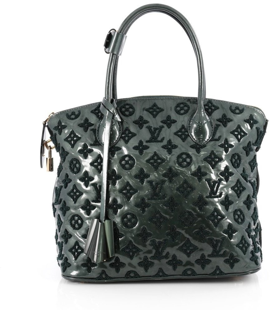 Louis Vuitton Lockit Fascination Monogram Emerald Green