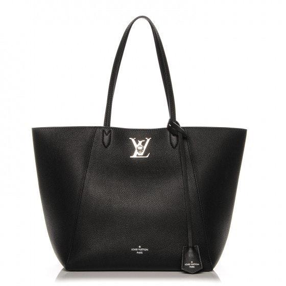 Louis Vuitton Cabas Lockme Noir Black