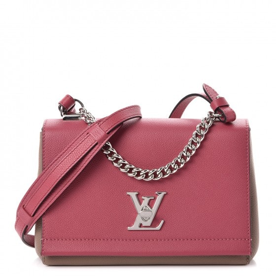 Louis Vuitton Lockme II BB Rose Bruyere