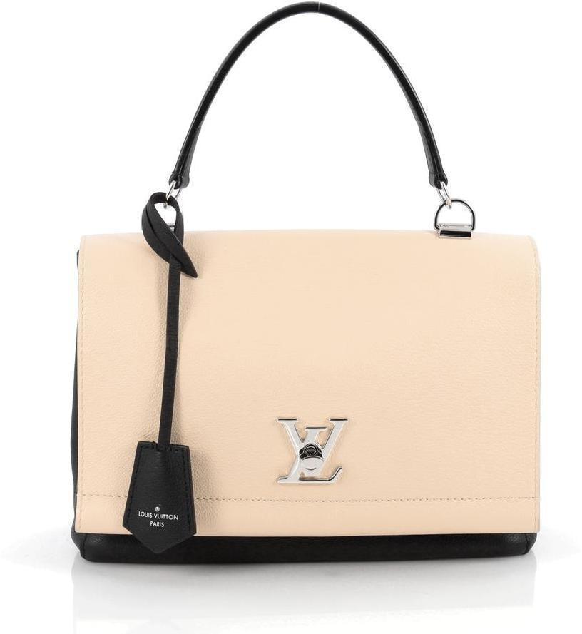 Louis Vuitton Lockme II  Beige/Black