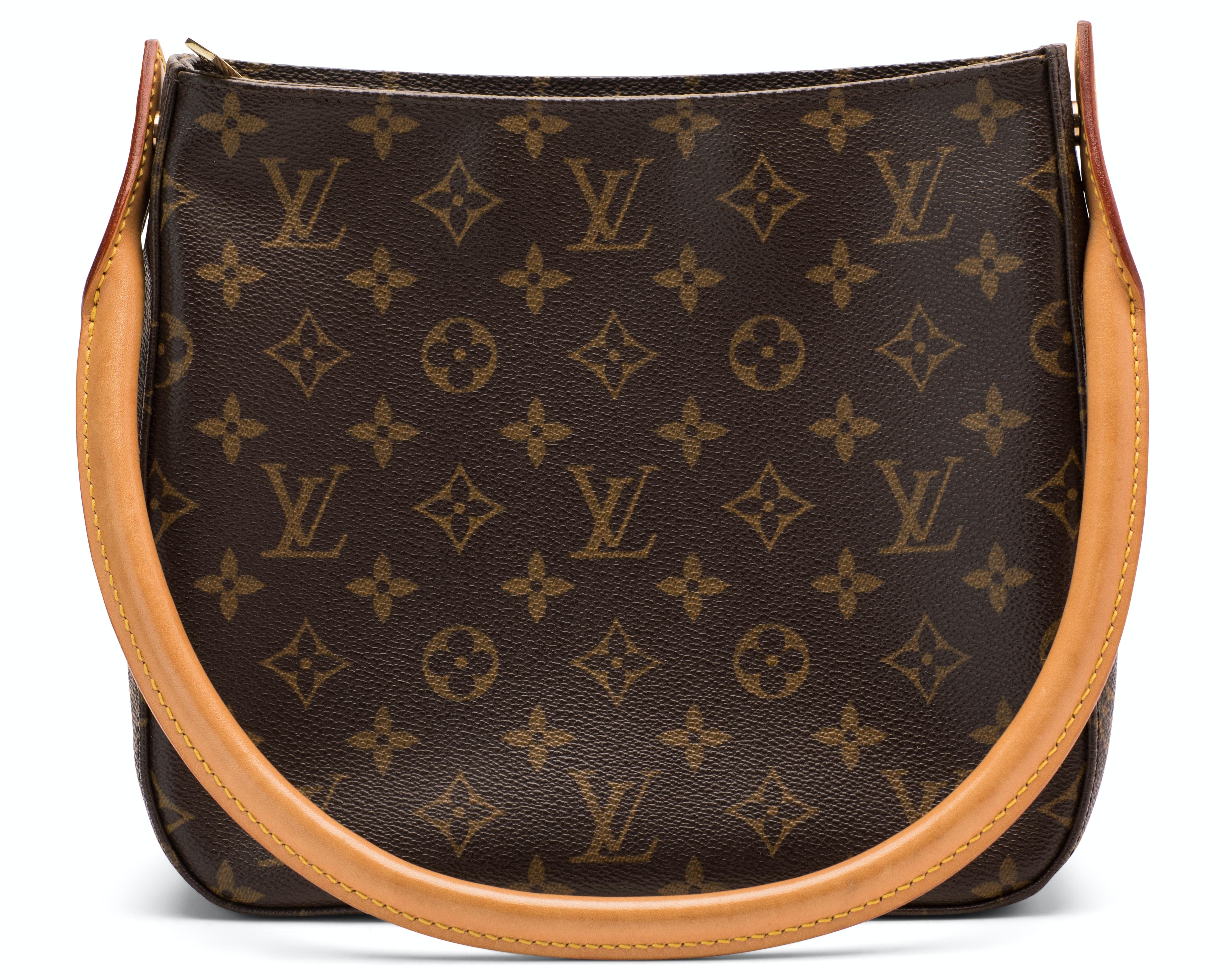 Louis Vuitton Looping Monogram MM Brown