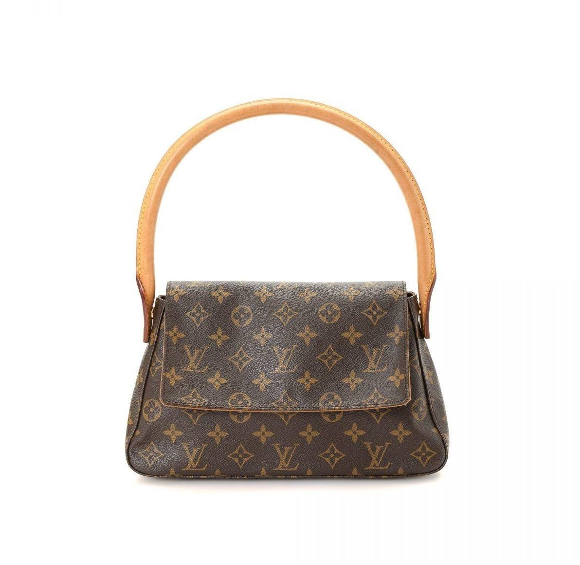 Louis Vuitton Looping Monogram Mini Brown