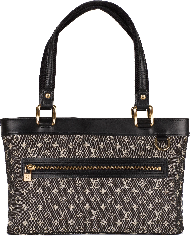 Louis Vuitton Lucille Monogram Mini Lin PM Black