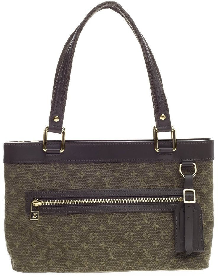 Louis Vuitton Lucille Monogram Mini Lin PM Khaki Green
