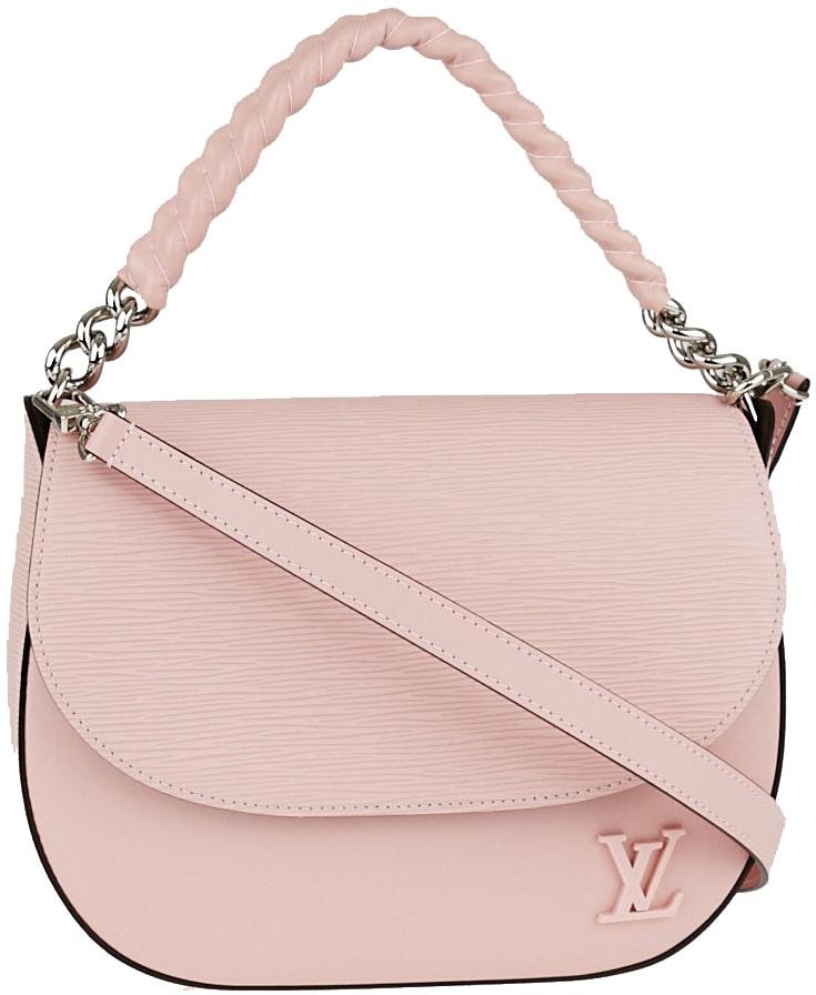 Louis Vuitton Luna Epi Rose Ballerine