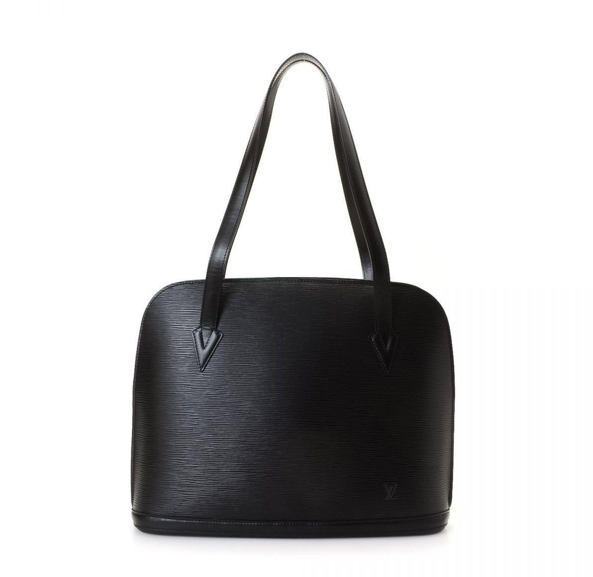 Louis Vuitton Lussac Epi Black