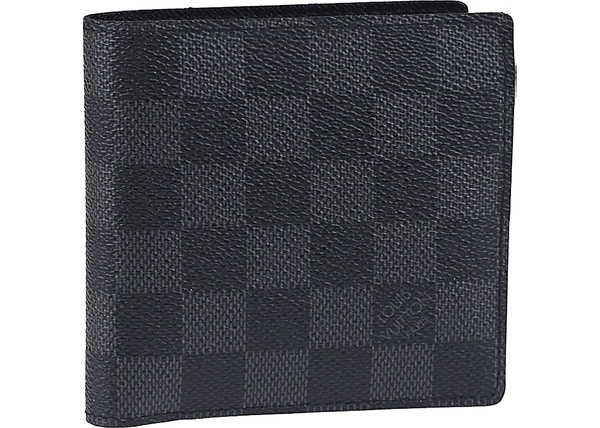 9b5fd9cb17 Louis Vuitton Macro Wallet Damier Graphite Black/Grey