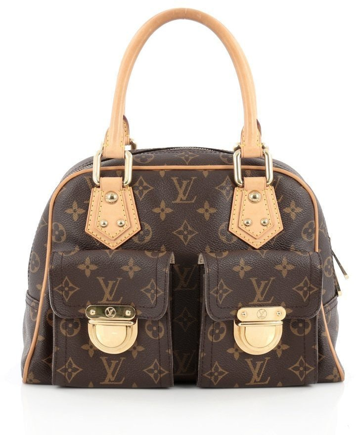 Louis Vuitton Manhattan Monogram PM Brown