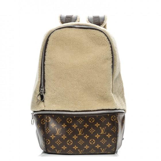 Louis Vuitton Backpack Marc Newson Fleece Monogram