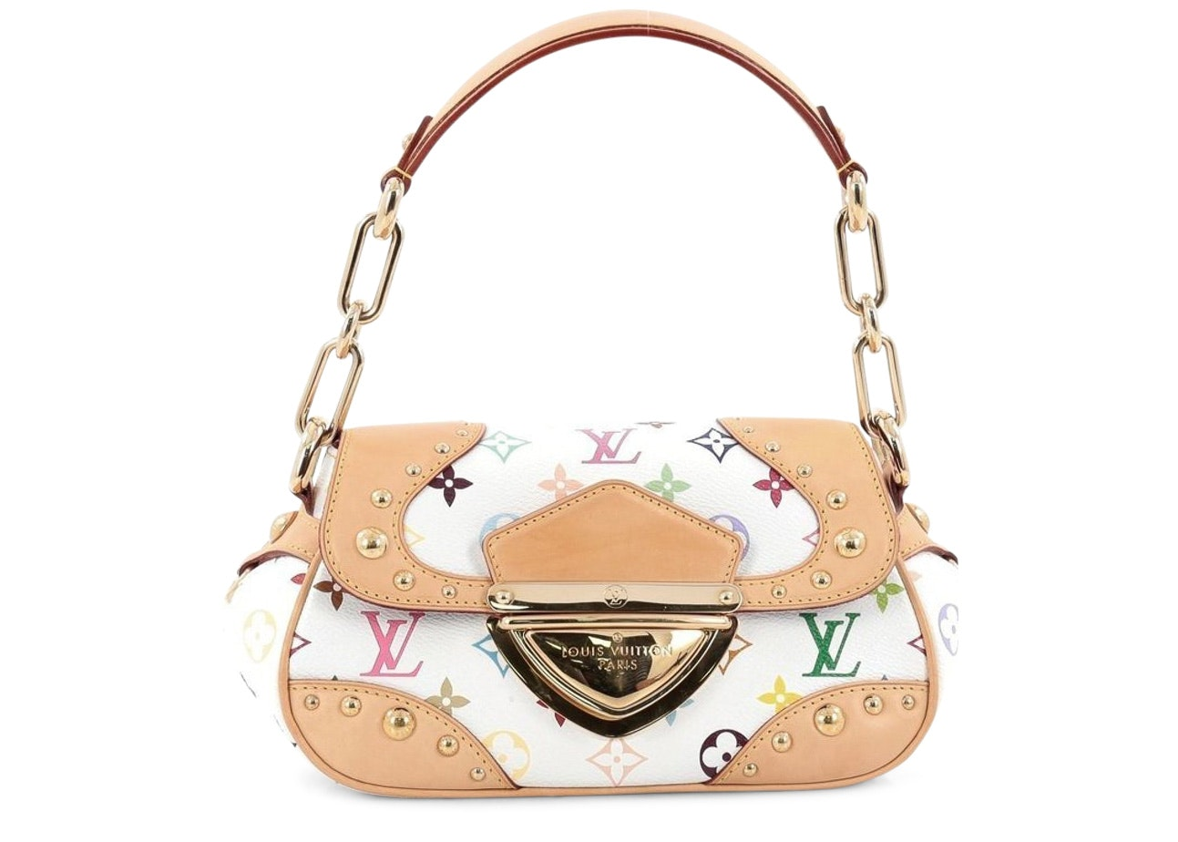 Louis Vuitton Marilyn Monogram Multicolore White