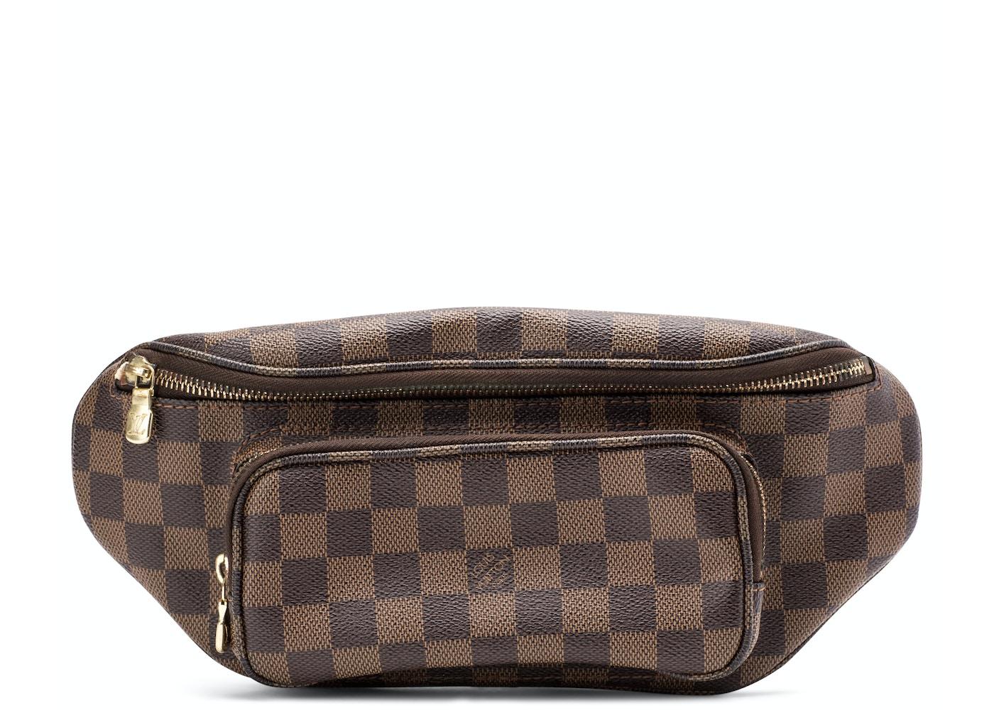8fd03cf357 Louis Vuitton Melville Waistbag Damier Ebene Brown