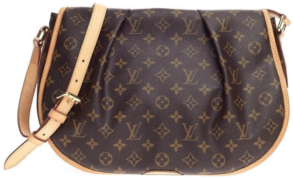 Louis Vuitton Menilmontant Monogram MM Brown