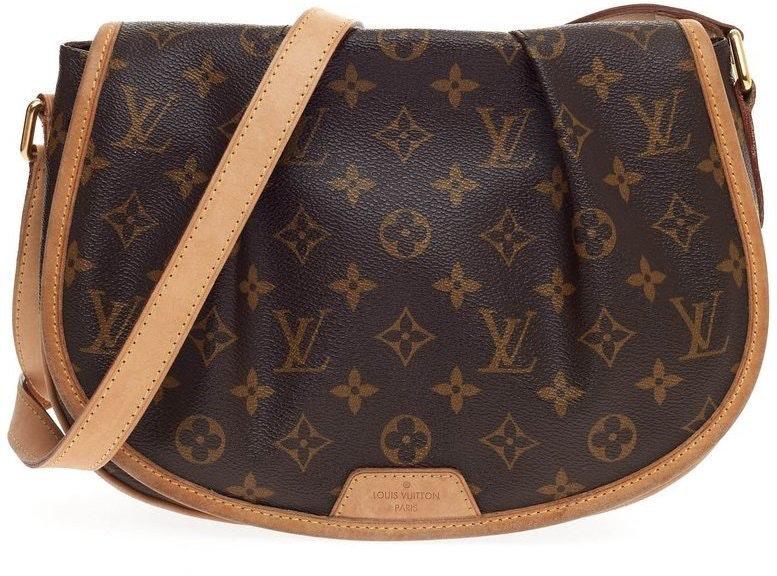 Louis Vuitton Menilmontant Monogram PM Brown