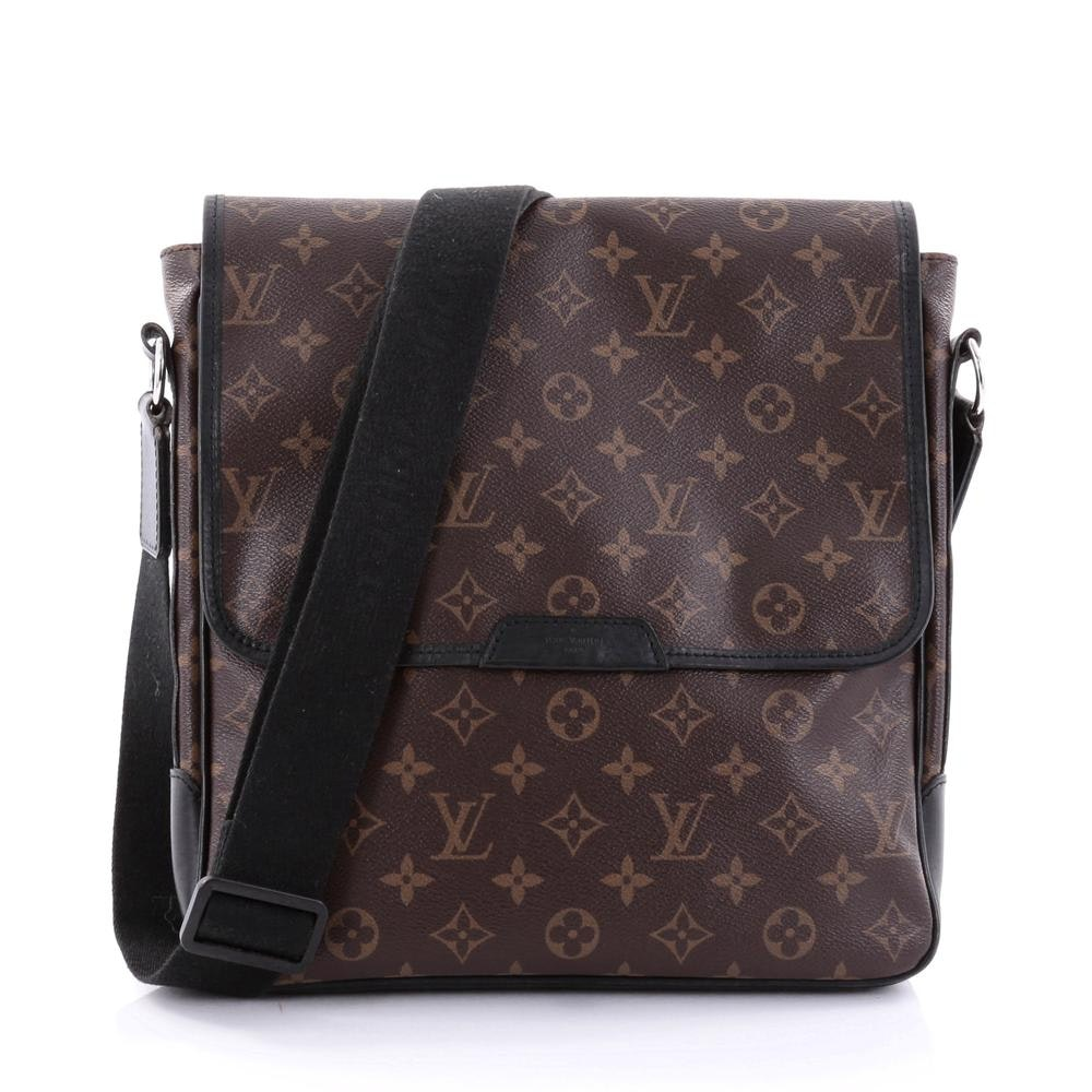 Louis Vuitton Messenger Bass Monogram Macassar MM Brown