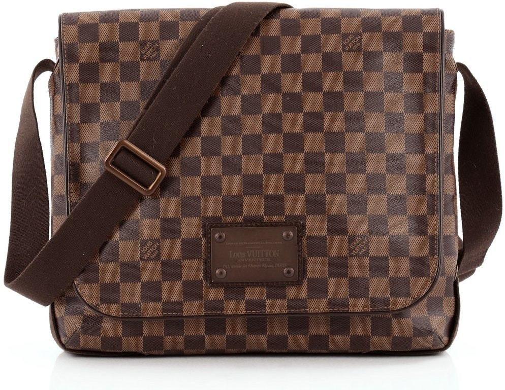 Louis Vuitton Messenger Brooklyn Damier Ebene MM Brown