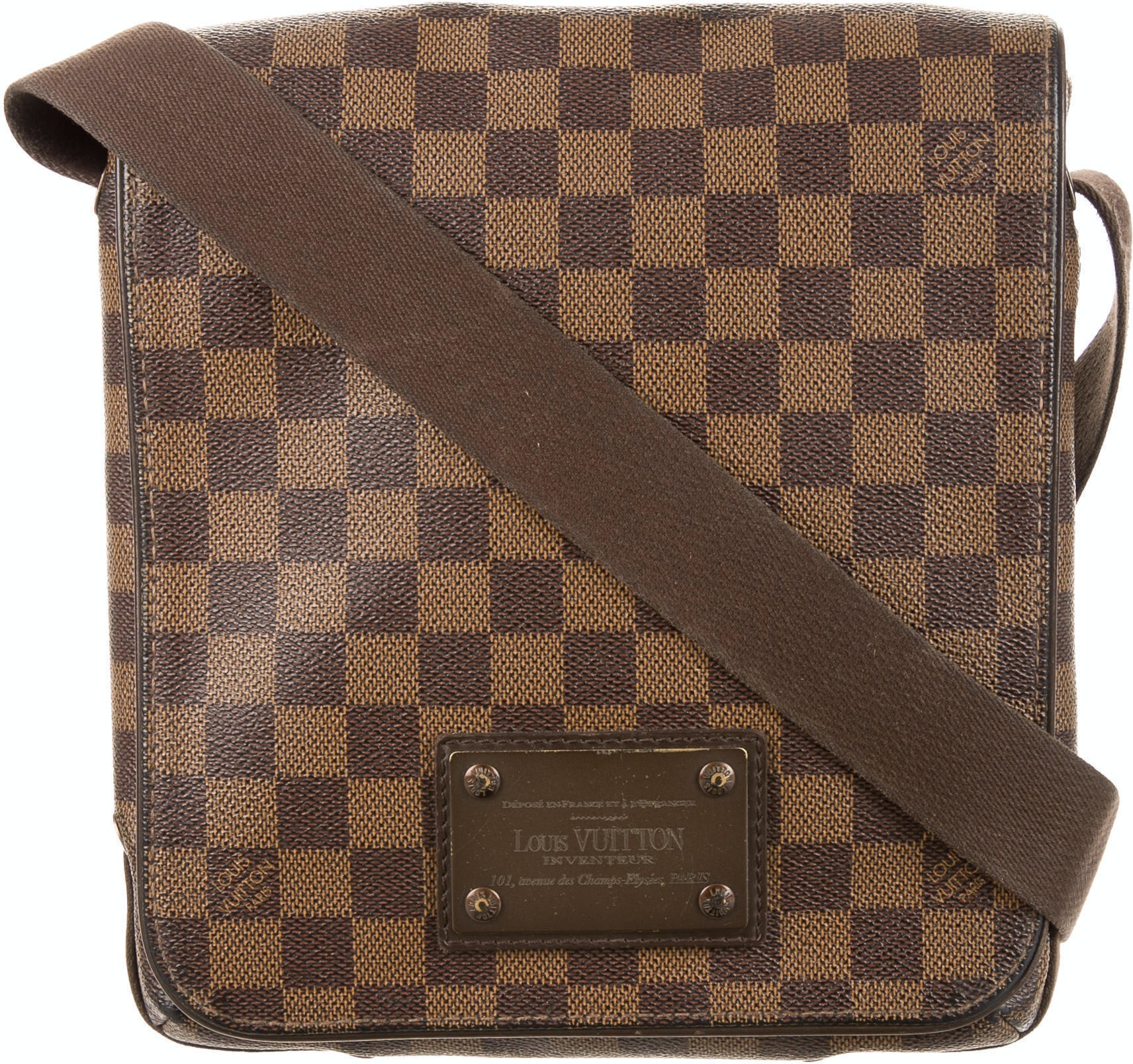 Louis Vuitton Messenger Brooklyn Damier Ebene PM Brown