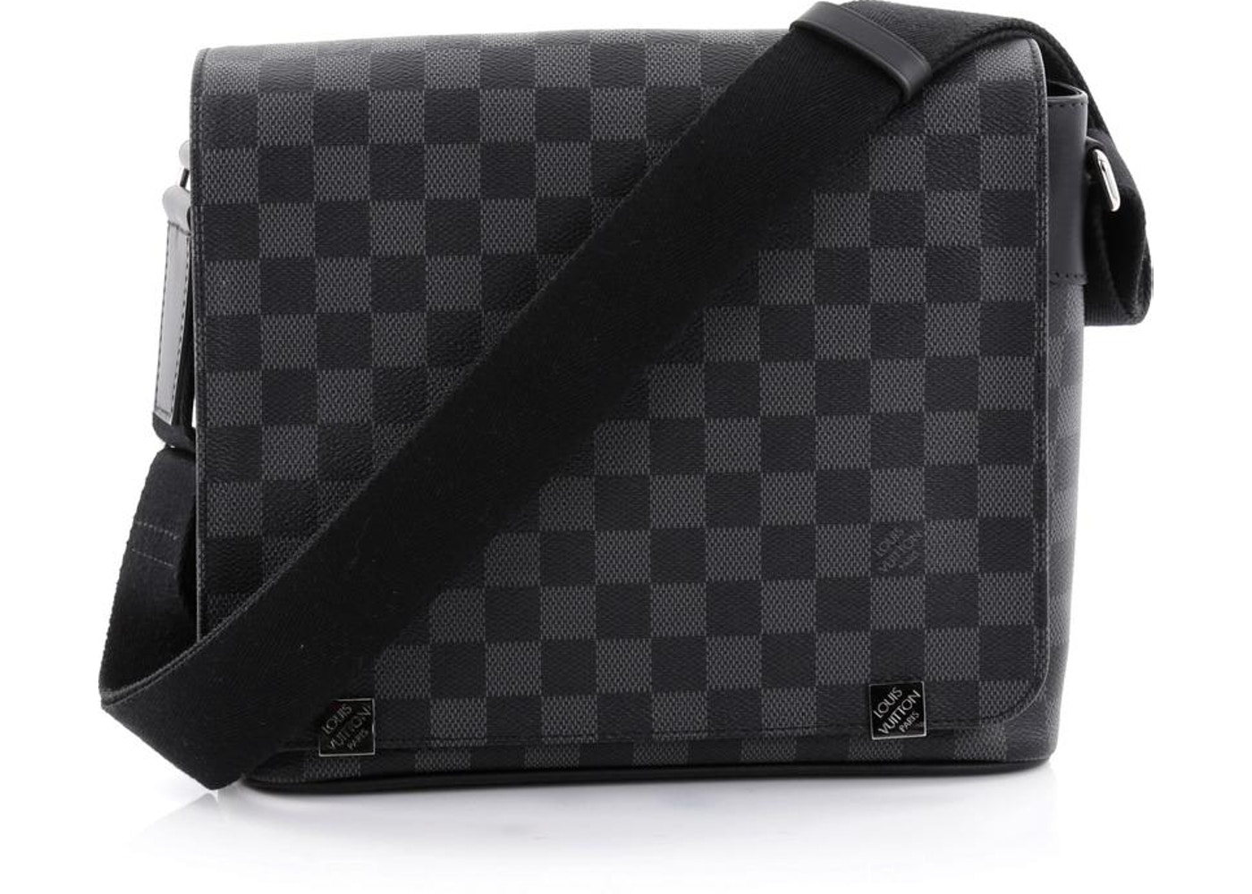 1e678370a437 Louis Vuitton Messenger District Damier Graphite NM Black. Damier Graphite  NM Black