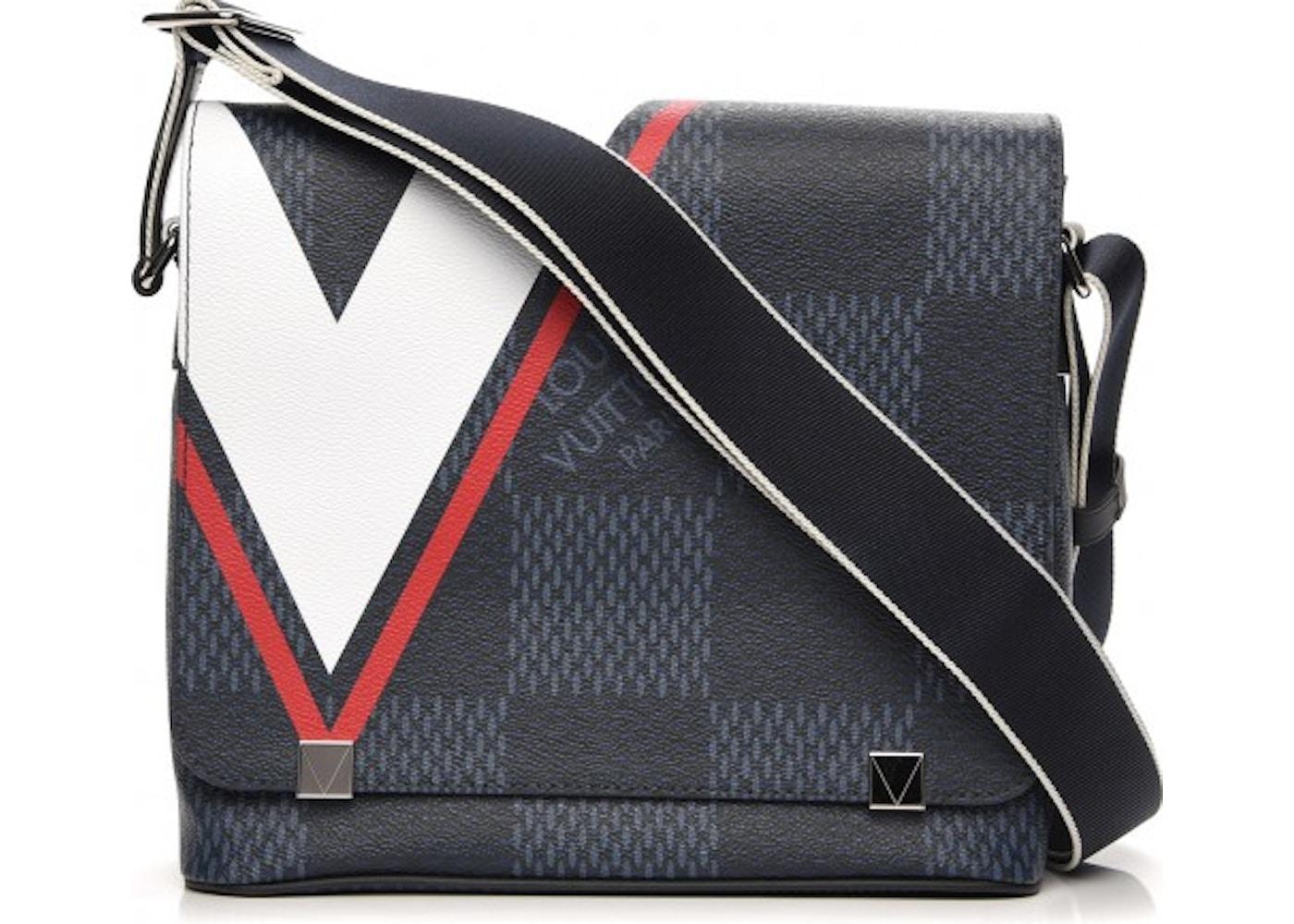 Louis Vuitton Messenger Latitude Damier Cobalt America s Cup District PM 32942df6494
