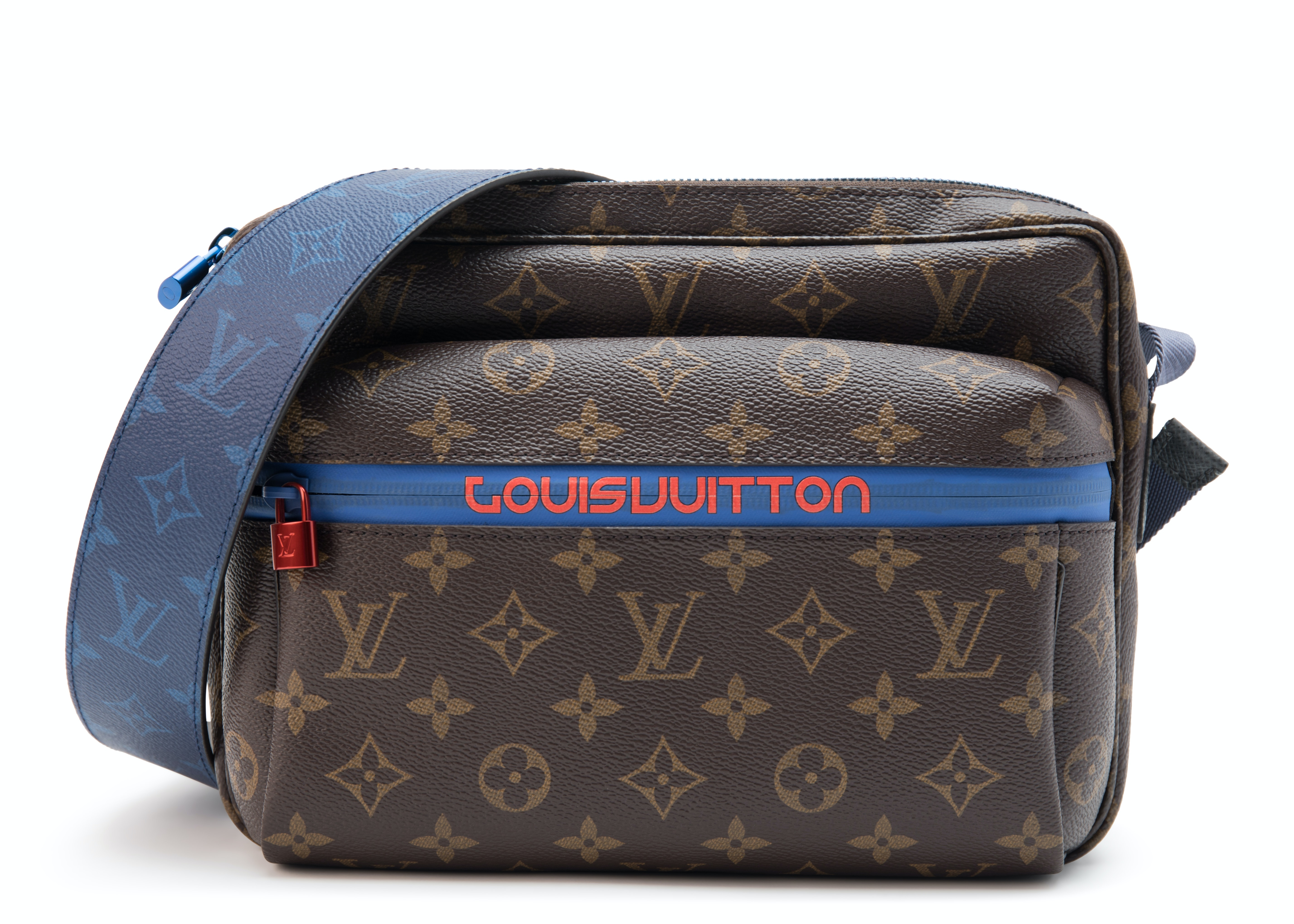 Louis Vuitton Messenger Monogram Outdoor PM Brown Blue