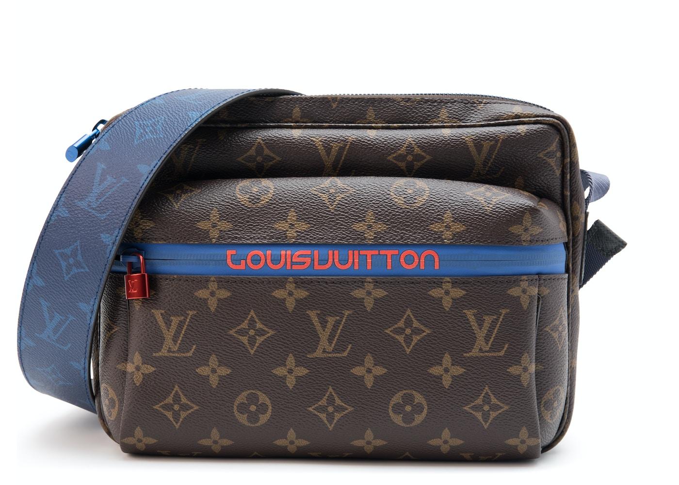 e60995c0883d Louis Vuitton Messenger Monogram Outdoor PM Brown Blue