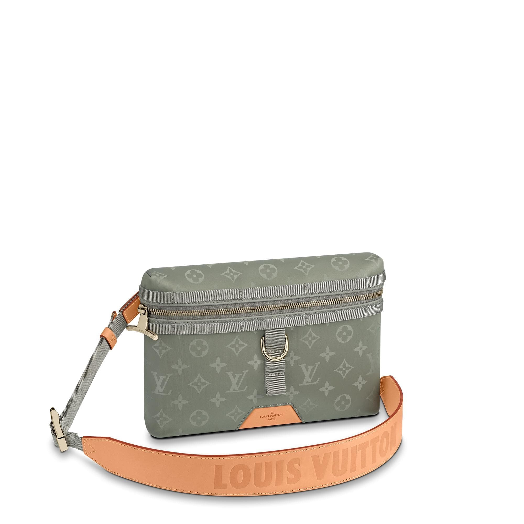 Louis Vuitton Messenger Monogram PM Titanium