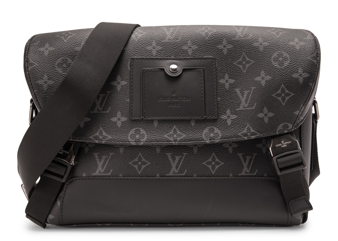 d45273c37c07 HypeAnalyzer · Louis Vuitton Messenger Voyager Monogram Eclipse PM Black