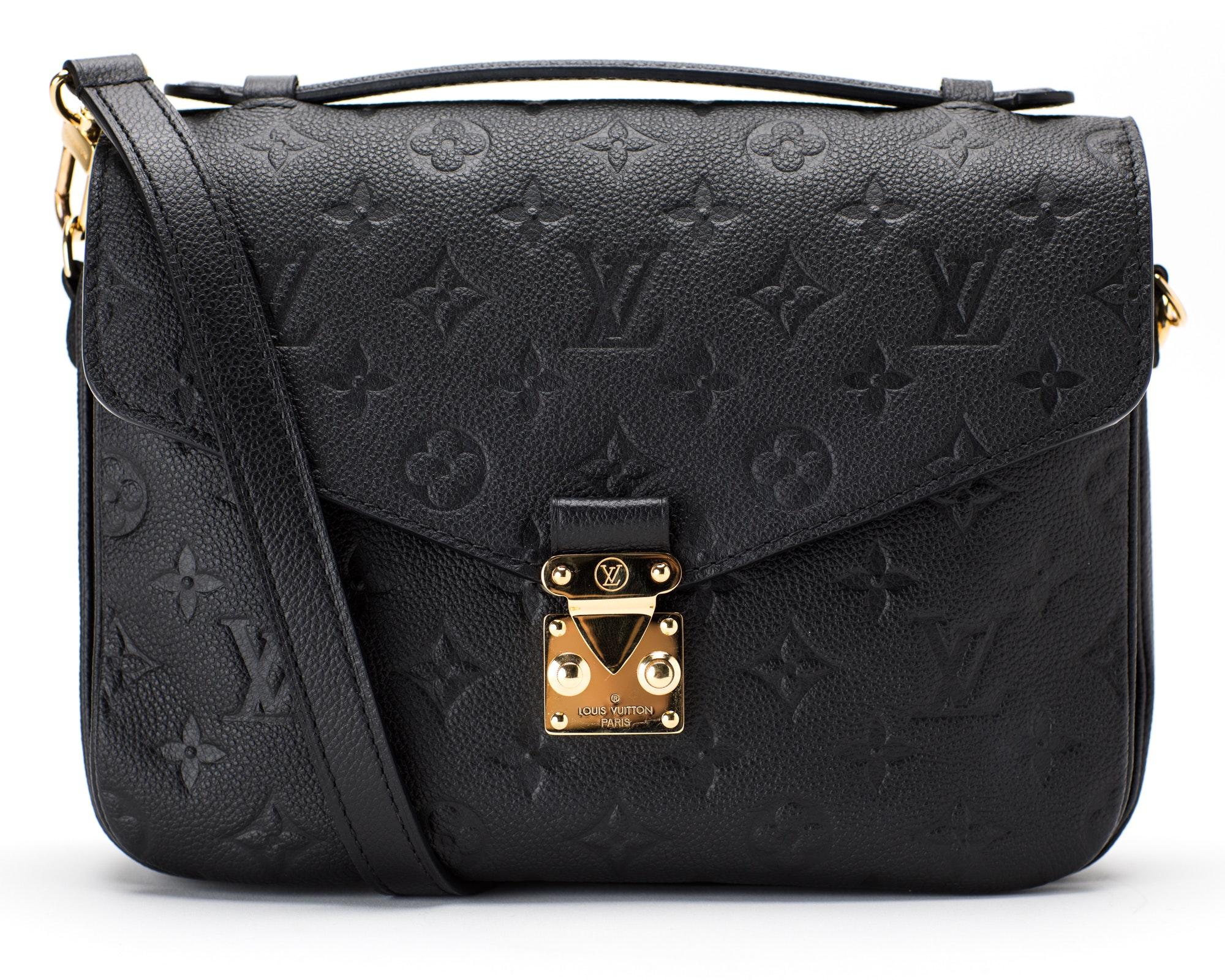 Louis Vuitton Metis Pochette Empreinte Noir