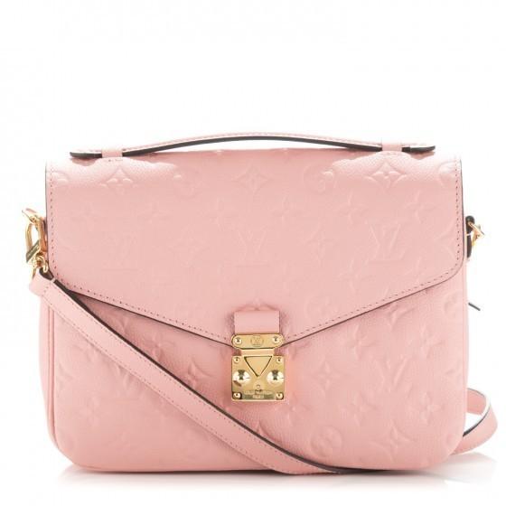 Louis Vuitton Metis Pochette Monogram Rose Poudre In Pink